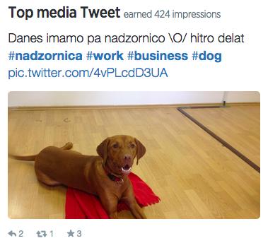 top media tweet junij