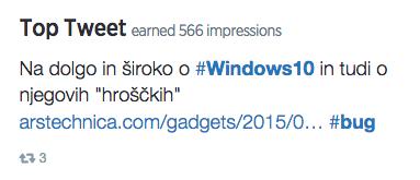 top tweet julij