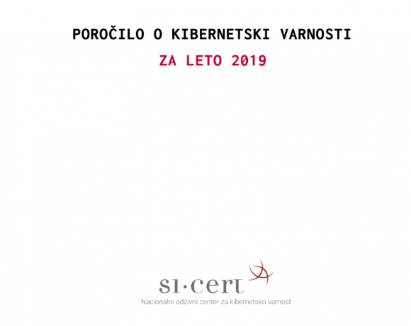 Poročilo o kibernetski varnosti 2019